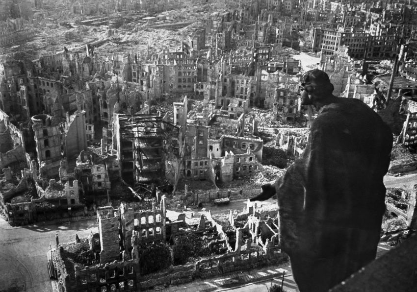 Savaş sonrası Dresden